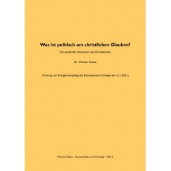 Was ist politisch am christlichen Glauben? - Werner Kleine (pdf-Format)